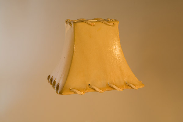 Rawhide Chandelier Lampshade