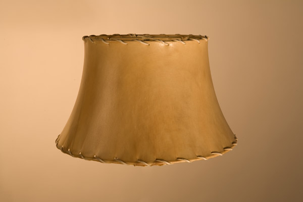 Rawhide Lampshades, Shallow Bell