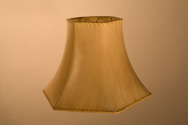 Rawhide Lampshades, ​Hexagon