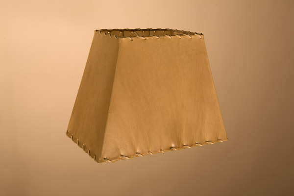 Rawhide Lampshades, ​Oblong