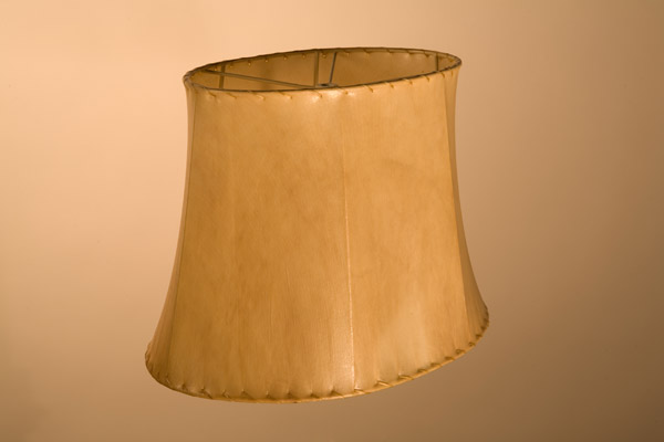 Rawhide Lampshades, ​Traditional Oval