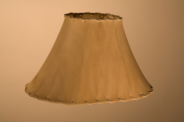 Rawhide Lampshades, ​Race Track Oval