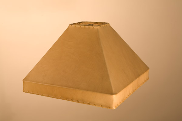 Rawhide Lampshades, ​Square Gallery