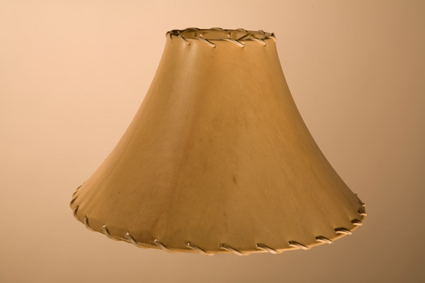 Rawhide Lampshades, ​Tapered Flare Cone