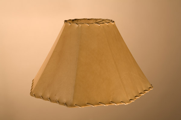 Rawhide Lampshades, Tapered Octagon